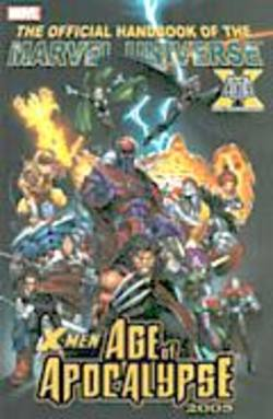 Buy The Official Handbook Of The Marvel Universe X-Men Age Of Apocalypse 2005 in AU New Zealand.