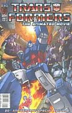 Buy Transformers: The Animated Movie #1 - 4 Collector's Pack in AU New Zealand.