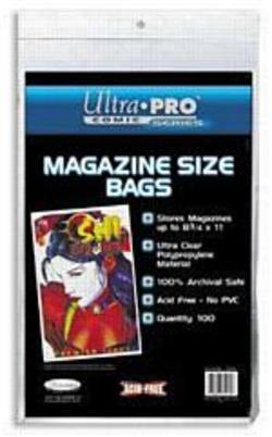 Buy Ultra Pro Magazine Size Bags in AU New Zealand.