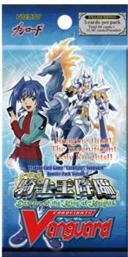 Buy Cardfight!! Vanguard: Descent of the King of Knights Booster in AU New Zealand.