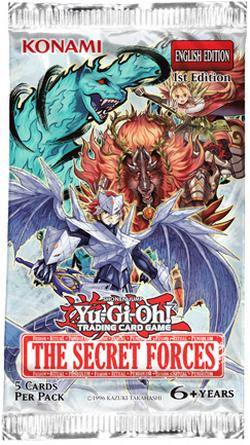 Buy YuGiOh The Secret Forces Booster in NZ New Zealand.