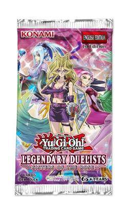 Buy YuGiOh Legendary Duleists: Sisters of the Rose Booster in AU New Zealand.