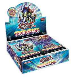 Buy YuGiOh Toon Chaos (24CT) Booster Box - Unlimited Edition Printing in AU New Zealand.