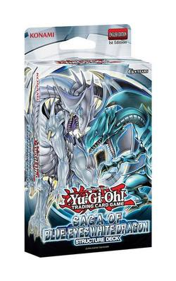 Buy YuGiOh Saga of Blue Eyes White Dragon Structure Deck in NZ New Zealand.