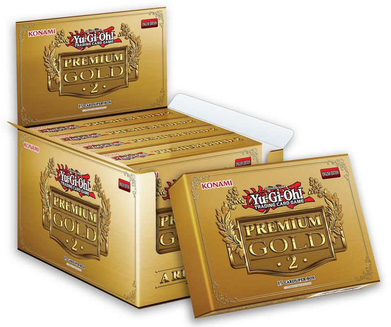YGO2081 - YuGiOh Premium Gold 2 (5CT) Booster Box